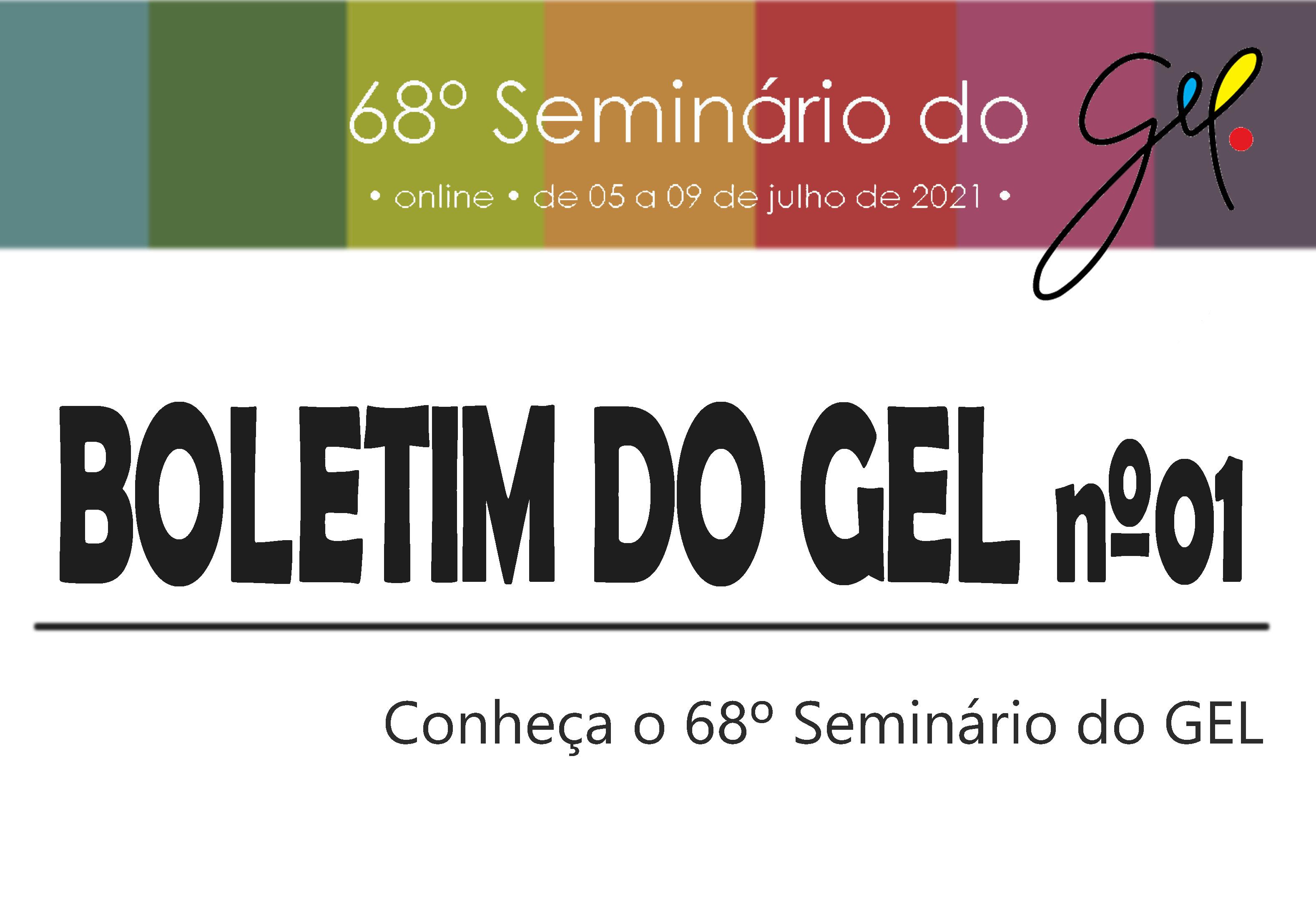Boletim do GEL nº01