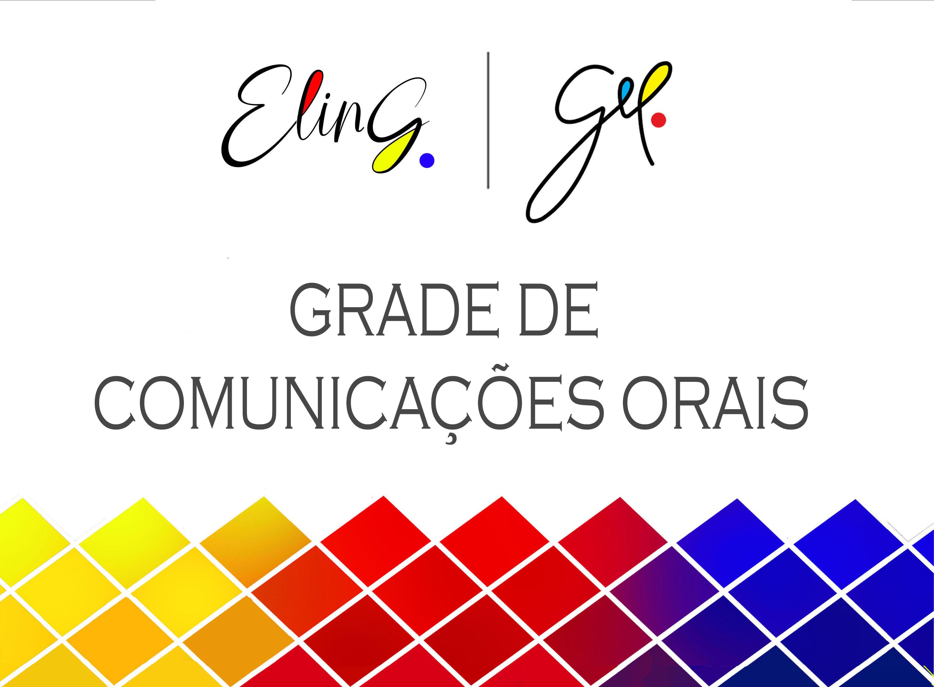 Grade de Comunicações Orais - I ELinG/2020